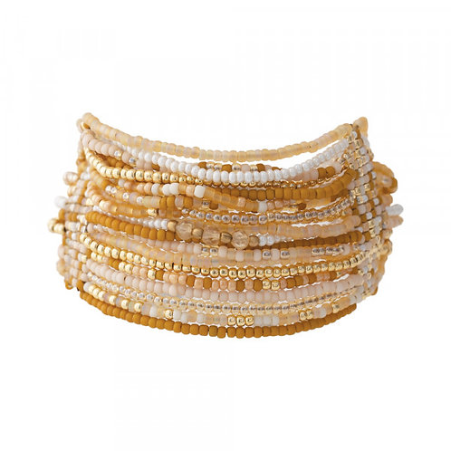 Brilliant Citrin Gold Armband
