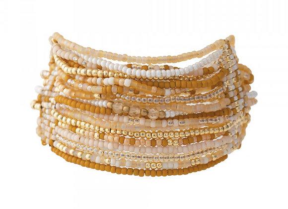 Brilliant Citrin Gold Armband