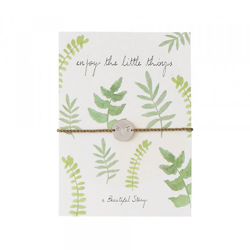 Jewelry Postcard Leaves