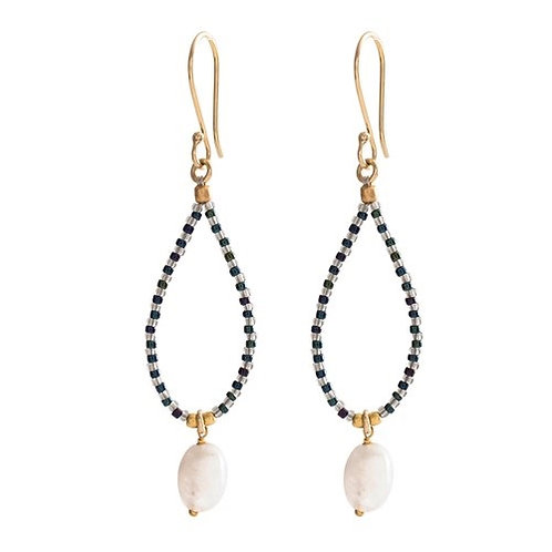 Magical Moonstone Earring