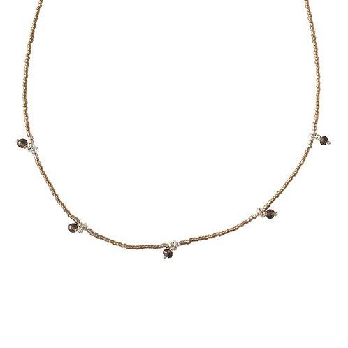 Cocoon Smokey Quartz Necklace