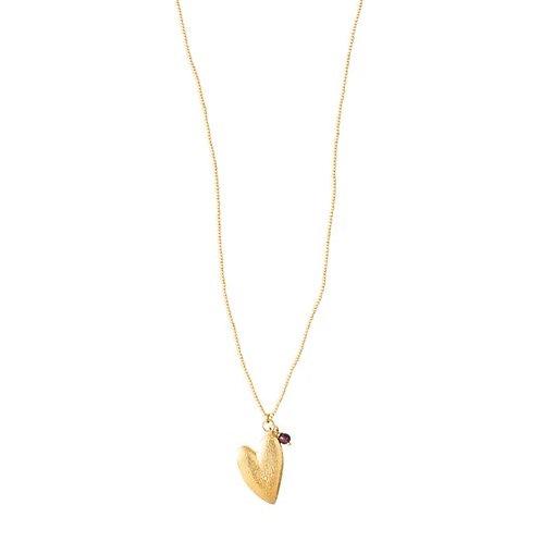 Paradise Garnet Necklace