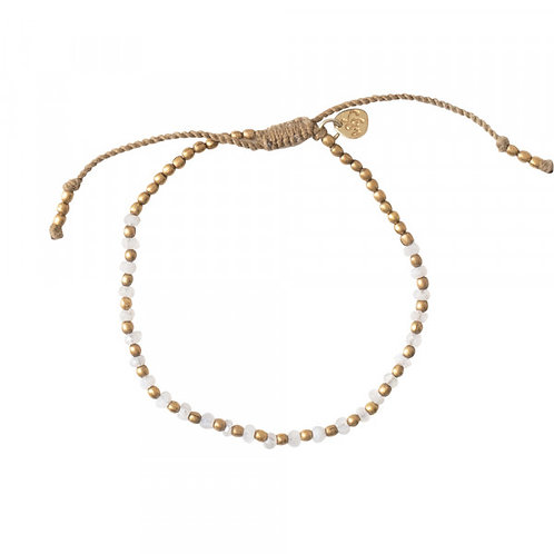 Beautiful Mondstein Gold Armband