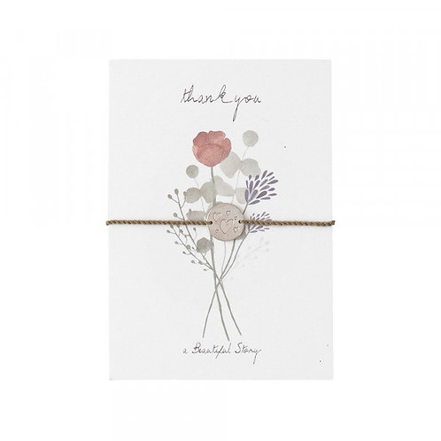 Jewelry Postcard Flowers