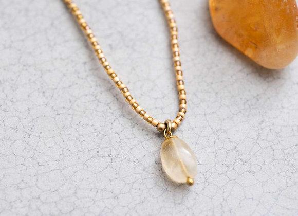 Magical Citrin Halskette