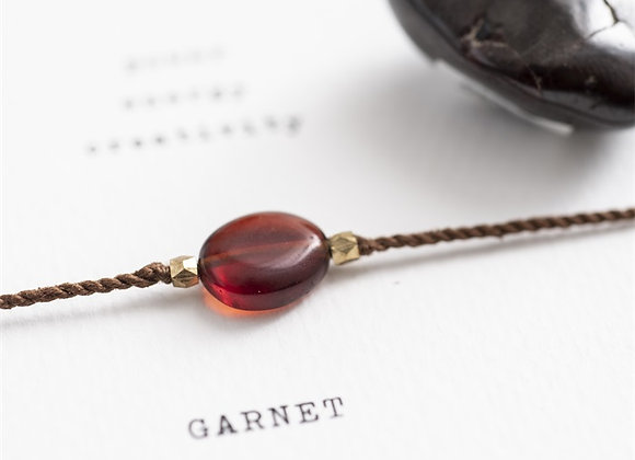 Gemstonecard Garnet