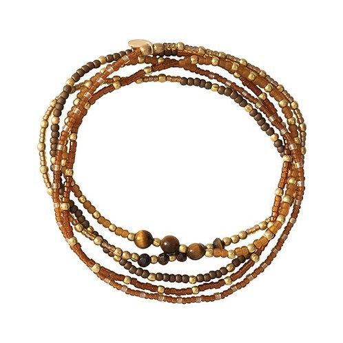 Together Tiger Eye Necklace & Bracelet