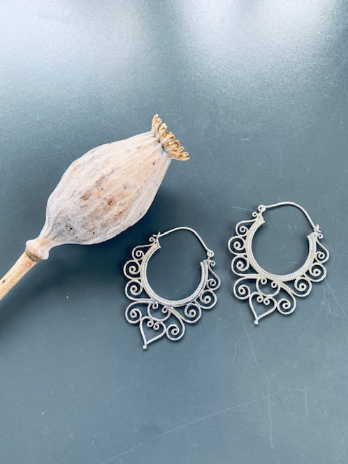 Ohrring Silber