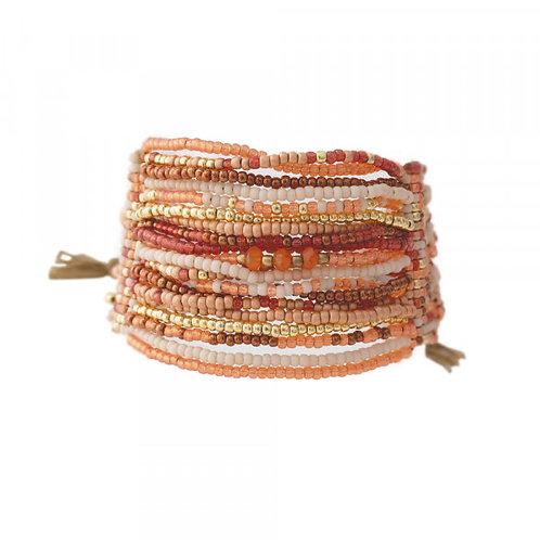 Brilliant Karneol Gold Armband
