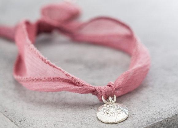 Sunny Dandelion coin bracelet