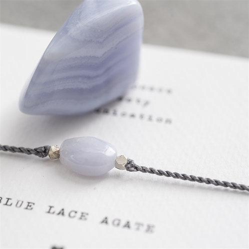 Gemstonecard Blue Lace Agate