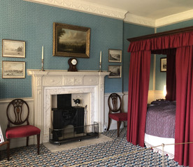 No1 Royal Crescent. Henry Sandford's bedroom