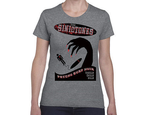 The SinicTones Poster. T-shirt. Unisex/Grey