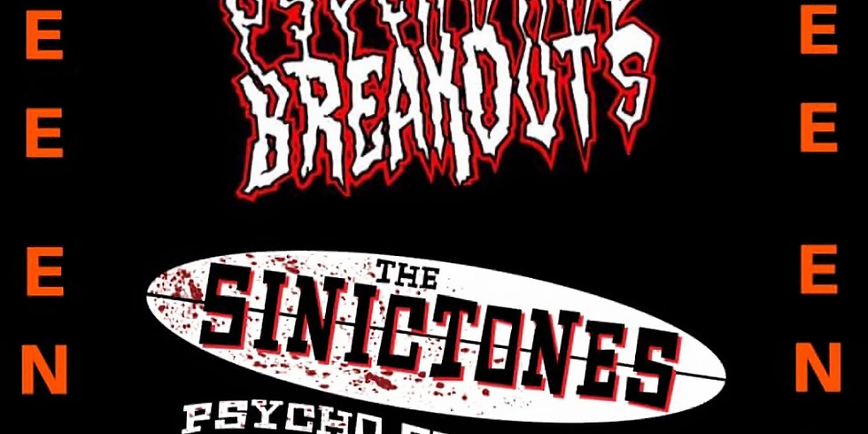 The DogHouse presents Psychward Breakouts pre party The SinicTones