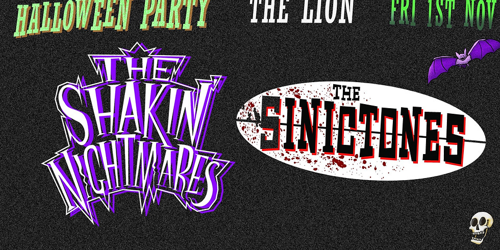 Halloween Party with The Shakin' Nightmares + The Sinictones