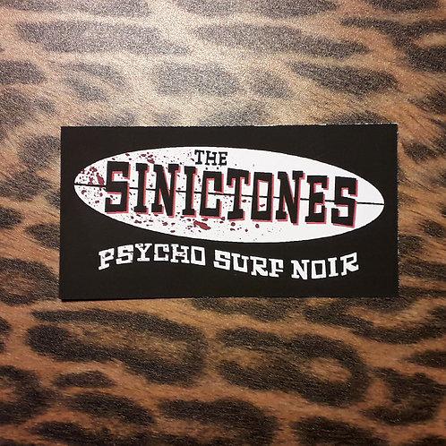 The SinicTones Sticker - Black