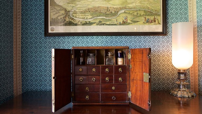 No 1 Royal Crescent Henry Sandford's bedroom