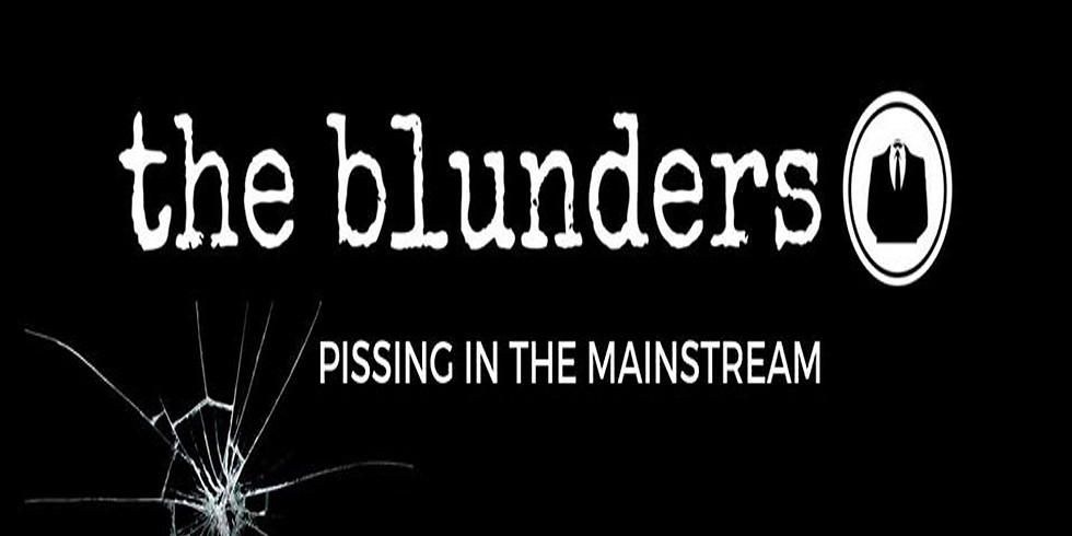 A BRISTOLIAN benefit gig. Supporting the blunders