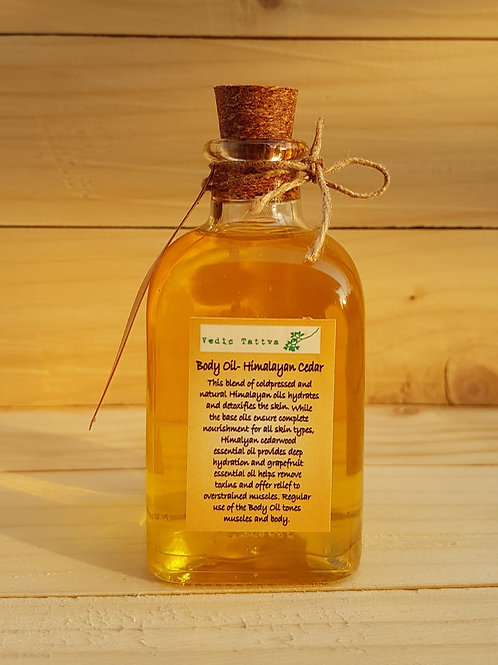 Body oil- Himalayan Cedarwood