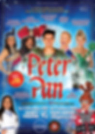 190730 Peter Pan Isle of Man cast flyer