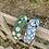 Thumbnail: Papatyalı düğümlü taç HT128