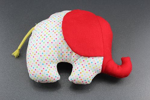Stoffelefant Herzen