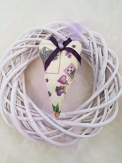 Dekokranz Lavendel violett