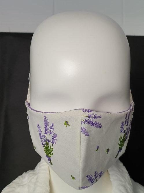 Gesichtsmaske Lavendel