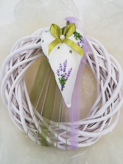 Dekokranz Lavendel lila