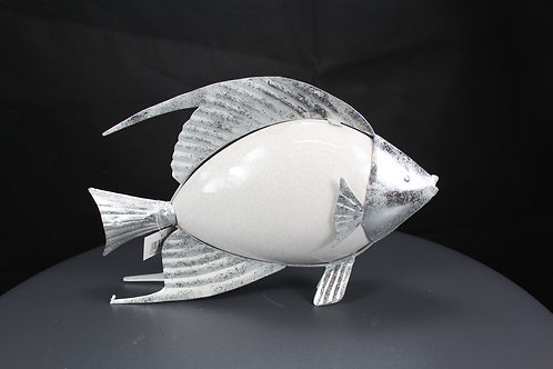 Fisch Metall gross