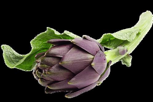 Artichaut violet, France, (2 pièces env. 250g)