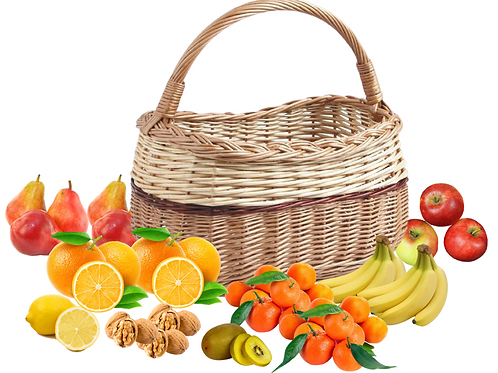 Panier fruits, Taille XL