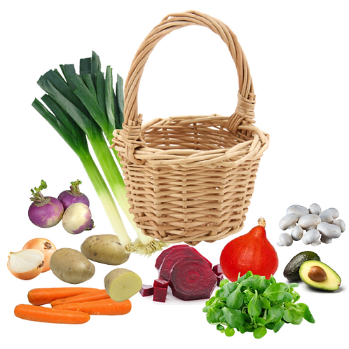 Panier légumes, Taille M