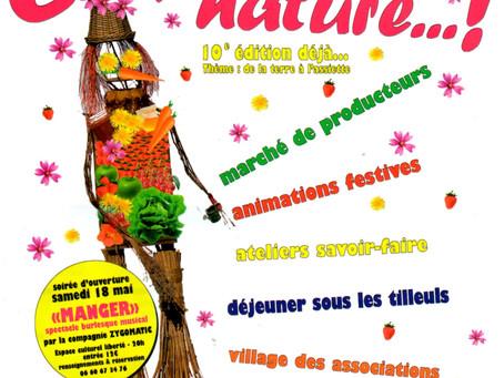 Dimanche 19 mai, foire gourmande éco-responsable à Saint Marcel