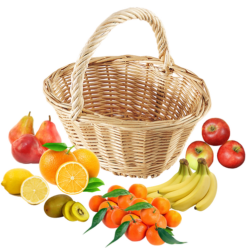 Panier fruits, Taille L