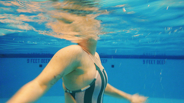 Underwater - Swim Team Member Portrait