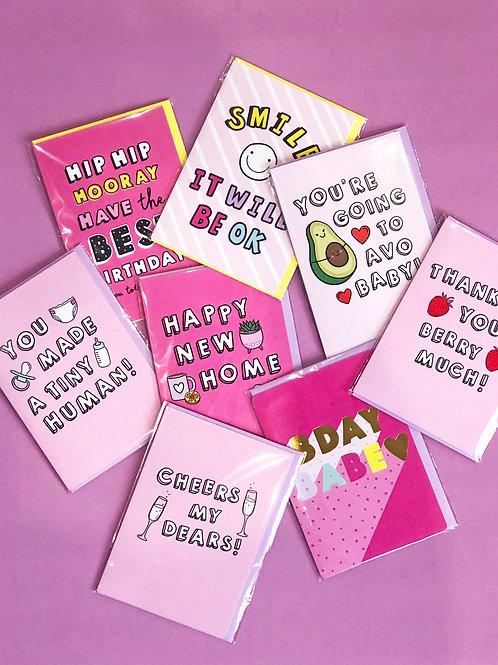Everyday sends Greetings Card Bundle Two