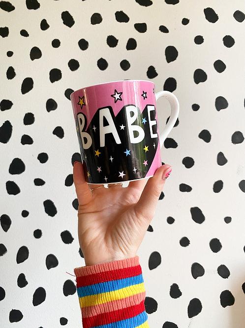 'Boss Babe' Bone China Mug