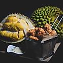 Chicken Nuggets w/ Durian Sauce
