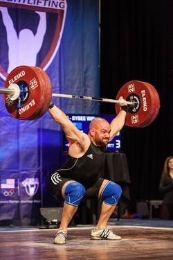126 kg snatch