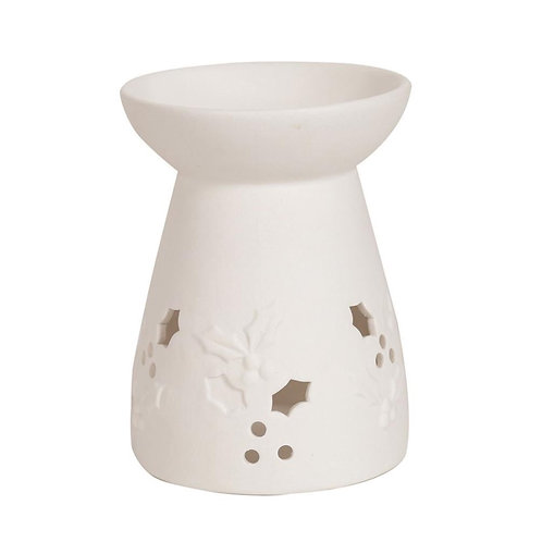 Holly Ceramic Wax Tealight Warmer