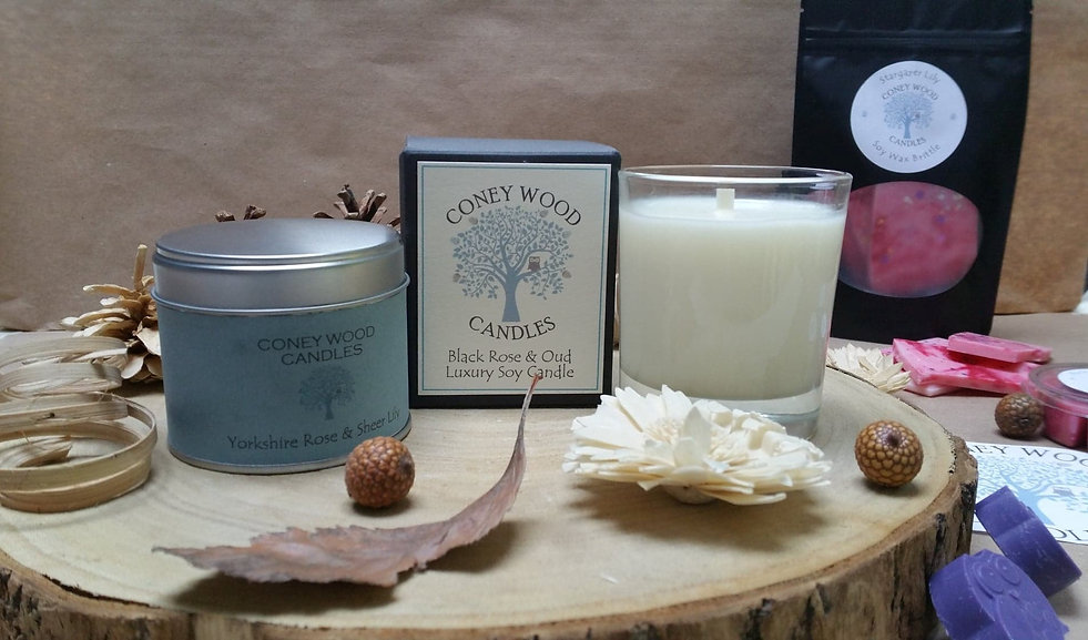 Luxury soy wax home fragrance. Candles, wax brittle