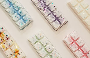 soy wax snap bars, wax snap bars, wax melts, wax tarts,