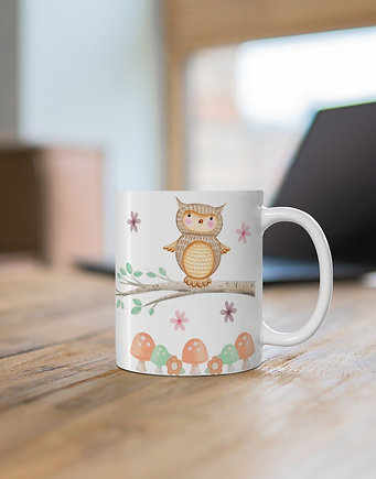 Personalised Mug - Owl