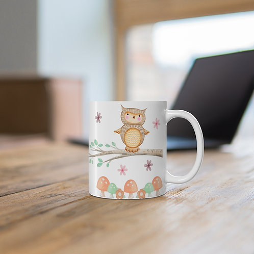 Personalised Mug - Owl