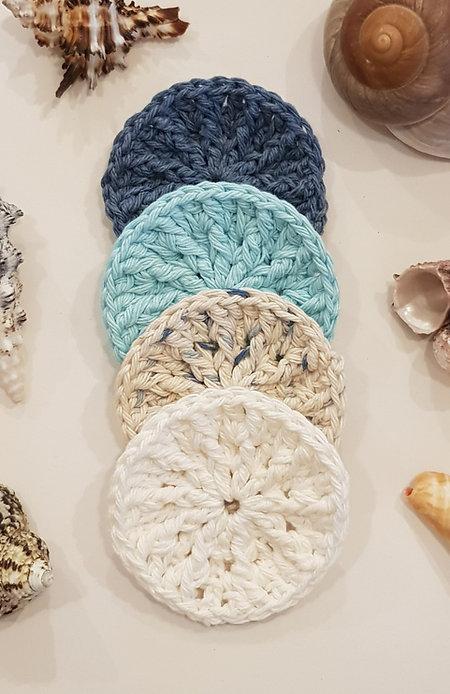 Face Scrubbies 100% Pure Organic Cotton