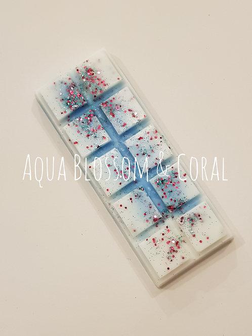 Aqua Blossom & Coral