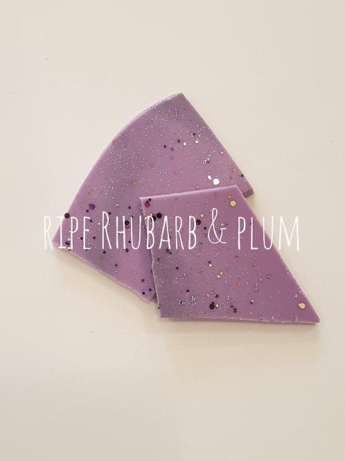 Ripe Rhubarb & Plum