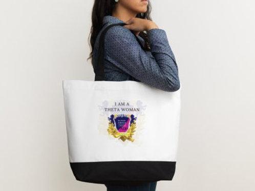 Theta Woman Tote Bags