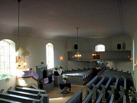 Református templom belseje